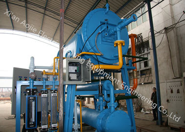 60 Nm³/H Exothermic Gas Generator Customized Color With Brightness Bluing Treatment